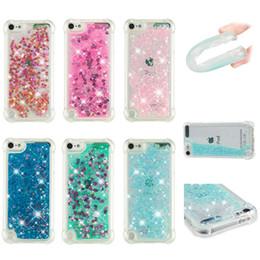 Love Heart Phone Australia - Soft Fashion Love Heart Quicksand Liquid Glitter Silicone Phone Case for iPhone xs max 6.5 iPhone xr Air Cushion Corner Shockproof 05