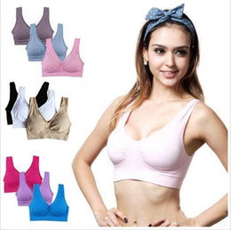 Wholesale genie bras for sale - Group buy Bras Sports Genie Bras Workout Fitness Yoga Vest Sleep Push Up Bras Seamless Elastic Crop Tops Adjustment Fashion Sexy Women Underwear B4941