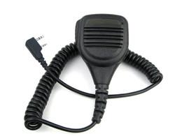 Kenwood speaKer microphone online shopping - IP54 Waterproof Speaker Microphone For Kenwood Baofeng UV R UV Walkie Talkie