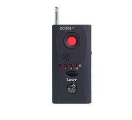 Gsm Alarm Set Australia - Quevinal 1 Sets Wireless RF Signal Detector CC308 + Multi-Function Camera Bug GSM Alarm System built-in battery Full Range
