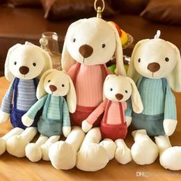 $enCountryForm.capitalKeyWord Australia - Lovely plush toy long ears rabbit dolls Stuffed Animals Children toys Couples hold pillow Christmas gift wholesale
