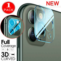 iphone clear protector NZ - NEW Clear Glass Camera Protective Film For iPhone 11 Pro Max Full Cover HD Tempered Glass Camera Lens Screen Protector