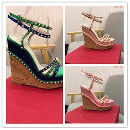 $enCountryForm.capitalKeyWord NZ - Weaving Cross Tied High-heeled Shoes New Arrived Hot Sales High Quality Leisure Ladies High Heels Sandals Women S 35-40 Heel High 15 Cm