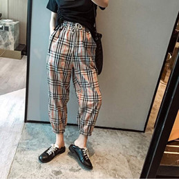 Wholesale women casual dresses streets resale online – 2020 new dress spring fashion casual halon pants loose and comfortable street dance hip hop