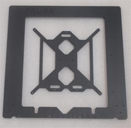 $enCountryForm.capitalKeyWord Australia - Freeshipping Reprap Prusa i3 MK2 Clone aluminum frame kit 6mm thickness black color CNC designed by Josef Prusa