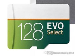 blister package design Canada - Design 100% Brand New Gray Green EVO Select 32GB 64gb 128gb TF Flash Memory Card Class 10 Free SD Adapter Retail Blister Package
