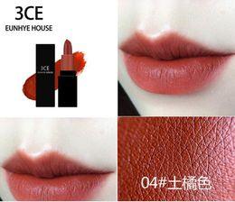 $enCountryForm.capitalKeyWord Australia - 3CE EUNHYE HOUSE Matte lipstick moisturizing non-marking soil orange bite lip lipstick student makeup free shipping
