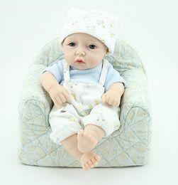 Beautiful Infants Australia - Cute 10Inches eborn Baby Full Vinyl Lucy Lifelike Fake Infant Educational Beautiful Bath Toys Kids Playmate Cute