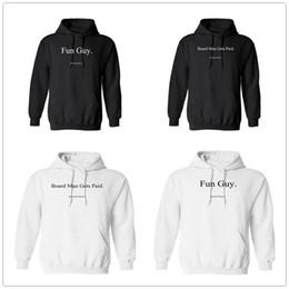 Hoodie mens logo online shopping - Board Man Gets Paid mens designer hoodies Kawhi Leonard Fun guy Basketball Hip Hop hoody Winter Autumn Fashion Hoodie Printed Brand Logos