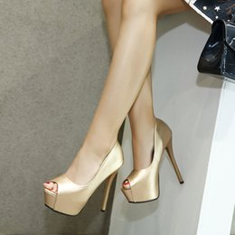 $enCountryForm.capitalKeyWord Australia - Sexy2019 Fine With Golden Fish High-heeled Shallow Mouth Women's Singles Shoes 34-39 Code