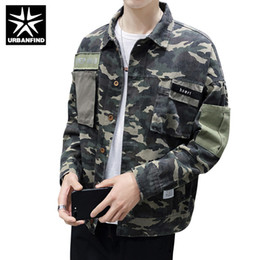$enCountryForm.capitalKeyWord NZ - URBANFIND Casual Loose Men Spring Autumn Jacket Camouflage Color Man Cotton Long Sleeve Shirt Coat Size M-3XL
