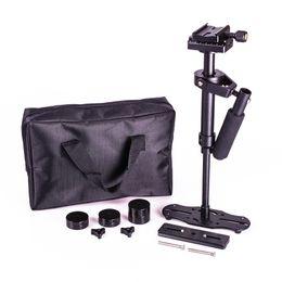 Stabilizers Steadycam Steadicam Dslr Camera Australia - Freeshipping DSLR S40 5D2 Professional handheld Camera stabilizer rig DSLR mini camcorder steadicam Smartphone video steadycam glidecam