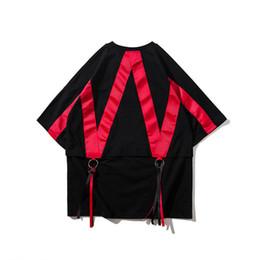 Hip Hop Clothing Swag T Shirts NZ - 2019 Hip Hop Fashion Summer Men Extended Hip-hop T Shirt Oversized Kpop Swag Clothes Mens Casual Streetwear Camisetas