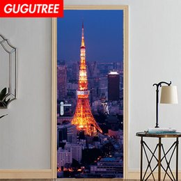 $enCountryForm.capitalKeyWord Australia - Decorate Home 3D scenery wall door sticker decoration Decals mural painting Removable Decor Wallpaper G-796
