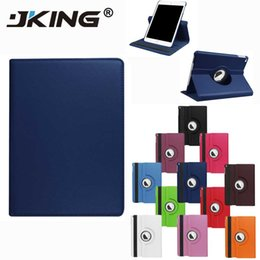 Deep purple roses online shopping - 360 Rotating Flip PU Leather Stand Case For iPad Pro Mini