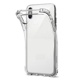SamSung a8 online shopping - 1mm Shockproof Clear TPU Case For Samsung Galaxy S9 S8 Plus S6 S7 Edge A30 A40 A50 A60 A70 A10 M10 M20 M30 A6 A8 Soft Transparent Skin Cover