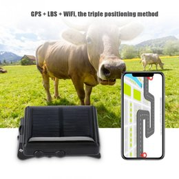 Gps Locator Map Australia - IP66 Waterproof Solar GPS Tracker For Sheep Cow Animal Tracking Device RF-V26 GPS GPRS GSM Locator RealTime Google Map Free APP