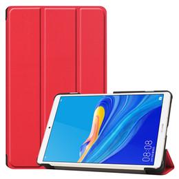 $enCountryForm.capitalKeyWord Australia - 30pcs Book Flip Tablet Cover Case for Huawei MediaPad M6 8.4 2019 Tablet + Stylus Pen