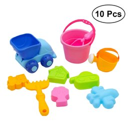 Inventive Fish Toys Baby Early Educational Toys 10pcs Fish Wooden Magnetic Fishing Toy Set Fish Toy Sandbox For Children Outdoor Fun & Sports Fishing Toys