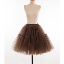 $enCountryForm.capitalKeyWord UK - Short Petticoat Multi-color Short Underskirt Bridal Tulle Petticoats For Women Wedding Dress Wedding Accessories TuTu