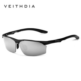 Discount veithdia glasses Veithdia Aluminum Magnesium Brand Polarizerd Mens Sunglasses Sun Glass Mirror Eyewear For Men Male Oculos Masculino 6576