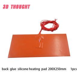 $enCountryForm.capitalKeyWord Australia - Silicone heating plate heater 155mmx230mm for 3d printer heat bed 1pcs