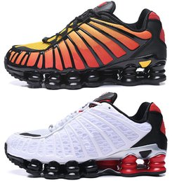 kids max Australia - shox TL NZ R4 White Metallic Silver-Max Orange Kids Men Outdoor Shoes Avenue Deliver Current high quality Mens Trainer
