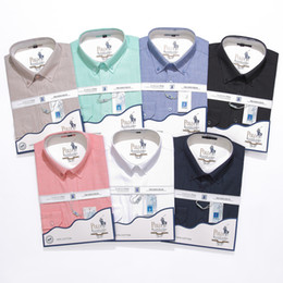 $enCountryForm.capitalKeyWord Australia - HOT American business brand slim Cotton and linen dress shirts Mens long sleeved shirts luxury mens designer dress shirts clothing