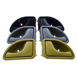 Inner door handle online shopping - Beige Black Grey Inner Interior Door Handle Front Left Right For Renault Kangoo Twingo