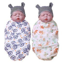 $enCountryForm.capitalKeyWord Australia - Comfortable Baby Bathrobe Cute Baby Swaddle Cartoon Print Sleeping Wrap Infant Blankets Photo Props