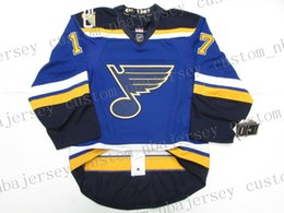 $enCountryForm.capitalKeyWord Australia - Cheap custom SCHWARTZ ST. LOUIS BLUES 50th ANNIVERSARY JERSEY stitch add any number any name Mens Hockey Jersey XS-5XL