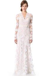 Ретро стиль винтаж вдохновленный кружева свадебное платье с длинными рукавами robe de mariée старинные свадебные платья BBG037