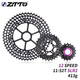 $enCountryForm.capitalKeyWord Australia - ZTTO 12Speed 11-52T SLR2 Cassette MTB 12Speed blackWide Ratio UltraLight CNC Freewheel Mountain Bicycle Parts for HG Hub Body
