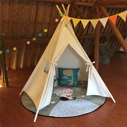 $enCountryForm.capitalKeyWord Australia - Kids Foldable Teepee Play Tent 1.6m Large Children Indoor Game House Princess Tent Children's Tent House