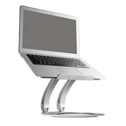 Macbook Aluminum Australia - Notebook Stand Lift Folding Aluminum Notebook Radiator Base Laptop Stand Adjustable Foldable For MacBook And