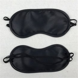 616b5fb05 Portable Blindfold Travel Eyepatch Black Sleep Mask Women Men Natural Sleeping  Eye Mask Eyeshade Cover Shade Eye Patch RRA393