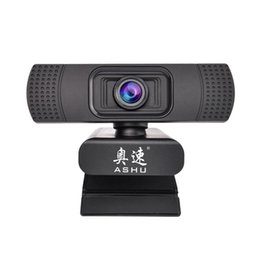 $enCountryForm.capitalKeyWord Australia - Webcam 1080P USB 2.0 Web Digital Camera with Microphone Clip-on Full HD 1920x1080P 2.0 Megapixel CMOS Camera Web Cam
