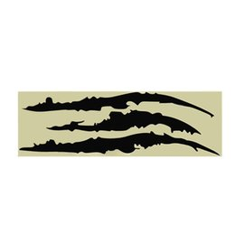 claws sticker 2019 - Universal Headlight Scratch Stripe Decal Sticker Claw Stripe Slash Truck Car Vinyl cheap claws sticker