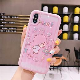 Elephant Phone Cases Australia - Detachable Phone Case For iPhone XS MAX X XR 8 7 6 Plus Case Anime Animal Cartoon Character Rabbit Bear Elephant Dog Teenage Heart Pink Cool