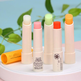 Lip Color Korea Australia - Innisfree Canola Honey Lip Balm Tinted Pink Tinted Coral Deep Moisture Smooth Care Korea Brand 5 Colors