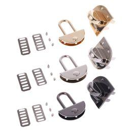 Metal Turnings Australia - 1 Pc Fashion Metal Clasp Turn Lock Twist Locks for DIY Handbag Shoulder Crossbody Bag Purse Hardware 44x35mm
