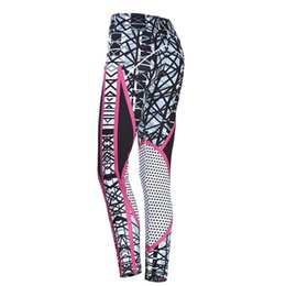 $enCountryForm.capitalKeyWord UK - Women's Yoga Pants Digital Printing Fitness Pants High Waist Hip Bottoming Shaping Sweatpants Breathable Comfortable