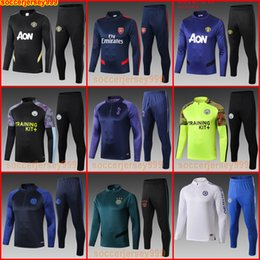 men football tracksuit Australia - Manchester training suit united city spurs MAN pepe Ajax UTD soccer jersey football tracksuit sweater jogging 19 20 uniforms chandal maillot