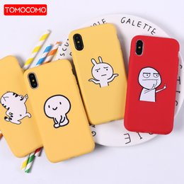 Middle Case Iphone Australia - Two Middle Finger Funny Emoji Cartoon Soft Phone Case Cover Fundas Coque For iPhone 7 7Plus 8 8Plus X XS Max