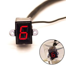 Speed Levers Australia - Ting Ao 12V LED Motorcycle Refit Gear Indicator Light N-6 Speed Shift Clutch Lever Gauge