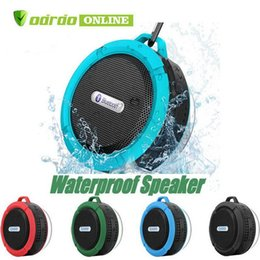 $enCountryForm.capitalKeyWord Australia - C6 Speaker Wireless Bluetooth Speaker Waterproof Shower Speaker Stereo Music Player With Suction Cup Retail Package