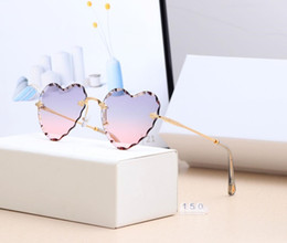 Red Heart Sun Glasses Australia - 2019 Hot Heart Shape Fashion Sunglasses 12 Colors Candy Colors Goggles One Pieces Rimless Sun Glasses Cheap Sunglasses Wholesale