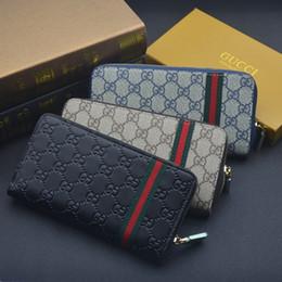 $enCountryForm.capitalKeyWord Australia - Women & men designer luxury purses Wallet Leather Long Wallets Card Holders For Men Women Purse Drop shipping