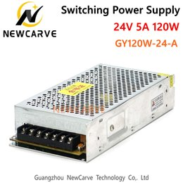switching power supply 24 NZ - CNC Router Switching Power Supply 24V 120W 5A GUANYANG GY120W-24-A NEWCARVE
