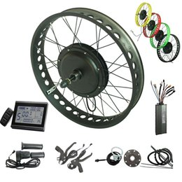 $enCountryForm.capitalKeyWord Australia - CSC Snow ebike conversion kit 48V 750W electric bicycle fat tire kit 20 24 26 inch 4.0 wide with KT LCD 3 display Regeneration controller